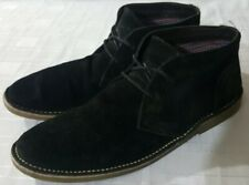 Ben Sherman mens leather/suede boots size 9 UK (43)