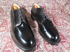 10 R Vtg 80' International Shoe Co. Black Oxford Military formal dress shoes New