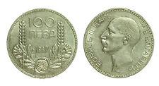 pci2457)  Bulgaria 100 LEVA 1937 ARGENTO Boris III - Silver