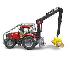 Bruder Toys Case IH Puma 230 CVX - 03097 - children's toy forestry tractor