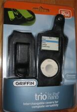 Griffin TRIO for Apple  iPod Nano 3  Cases Cover Protector LEATHER NEW