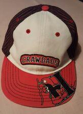 Rare Hickory Crawdads Youth Baseball Cap minor league baseball hat