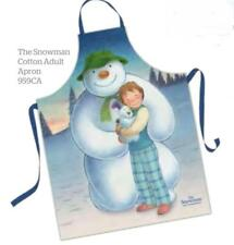 Samuel Lamont UK Raymond Briggs The Snowman Adult Cotton Apron Gift Packaged