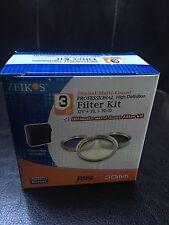 Zeikos 3 Piece Filter Kit/30MM-LOW PRICE!!!