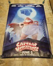 """CAPTAIN UNDERPANTS"" Bus Shelter Poster 4' x 6'"
