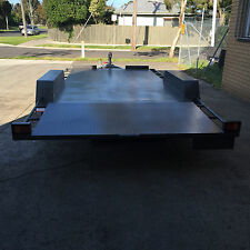 16X6'6'' Banana back car carrier heavy duty tandem trailer NO Extra Cost