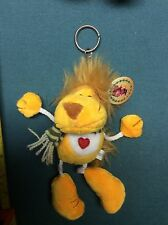 "Collectible LION STUFFED ANIMAL KEY CHAIN  by ""XU YANG TOY""  NEW  9"""