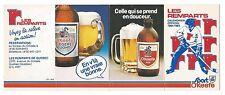 QMJHL Hockey Quebec Remparts Old Calendar / Calendrier 1984-85 - O'Keefe