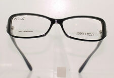 JIMMY CHOO JC 31 YFC CLASSIC LADIES BLACK AND GREY MOTTLE PLASTIC GLASSES FRAME