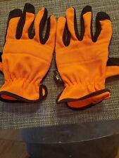 Wells Lamont, Men's Large Hunting Orange  Sportsman Jersey Work Gloves-FREE SHIP