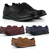Mens Casual Comfort Formal Office Smart Work Lace Up Oxford Brogue Shoes Size