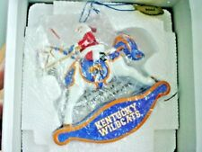 Danbury Mint Sports Collectibles Uk Kentucky Wildcats 2006 Rocking Horse Santa