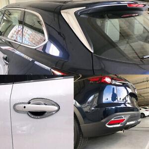 For Mazda CX-9 2016-2020 Chrome Exterior Accessories Kit Cover Trim 12pcs