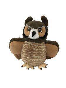 Great Horned Owl Plush Stuffed Soft Toy 30cm CuddleKins by Wild Republic
