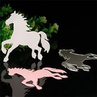 Horse Metal Cutter Cutting Dies Stencils Scrapbooking Craft Album  .A