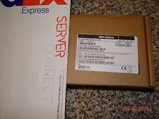 IBM NEW SEALED 49Y7960 49Y7961 49Y7962 Intel X520 Dual Port 10GbE SFP+ Adapter