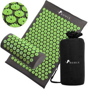 Acupressure Mat Massage Pillow Yoga Shakti Fitness Cushion Pain Stress Relief