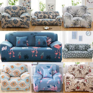Easy fit Stretch Sofa Cover Protector Couch Recliner Slipcover 1 2 3 4 Seater UK