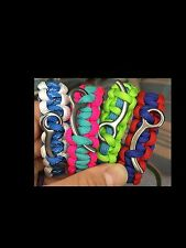 Custom Sky Diver's Closing Pin Survival Bracelet Parachute 550 Paracord