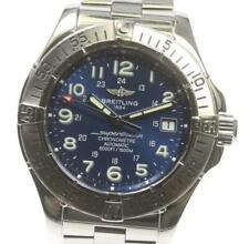 BREITLING Super Ocean A17360 Date blue Dial Automatic Men's Watch_569221
