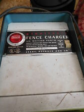 Sears Solid State Fencer Electric Fence Charger Farm Livestock Made In Usa