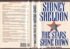 1992 COLLECTABLE 1st ED THE STARS SHINE DOWN SIDNEY SHELDON HCDJ MYLAR NEW