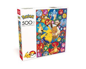 Pokémon Pikachu & Eevee Series 3 500 Piece Jigsaw Puzzle