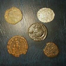 New ListingLot Of A 5 Ancient Roman Coins Uncleaned.