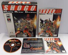 Computer Game Gioco Big Box PC CD-ROM ITALIANO - SHOGO Mobile Armor Division -