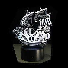 LED ONE PIECE THOUSAND SUNNY Pirate Corsair Bett Boat Nachtlampe Nachtlicht