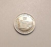 Sammelmünze - 5 Pesos Castles - La Fuerza La Habana 999 Silber