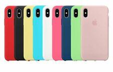 Apple Funda Original 100% Silicona iPhone X (Caja Retail)