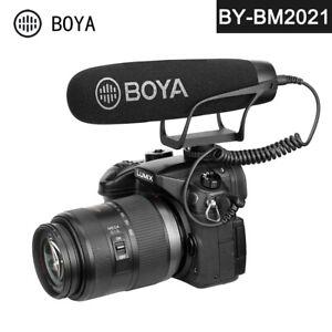 BOYA BY-BM2021 Shotgun Microphone Super Cardioid Video Recording for DSLR Camera