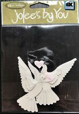 """Jolee's By You """"White Doves"""" Dimensional Embellishment"""