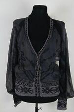 Jean Paul Gaultier Maille Vintage Wool + Silk 2 part Cardigan sz M 004086
