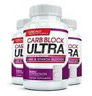 CARB BLOCKER ULTRA Diet Pill Intercept Starch 3 Bottles