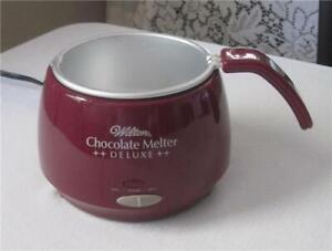 Wilton Chocolate Melter Deluxe Warming Base & Insert Candy Melting Pot