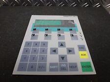 Siemens SIMATIC op7 di Ricambio Tastiera Tastiera 6av3607-1jc20-0ax1 s7
