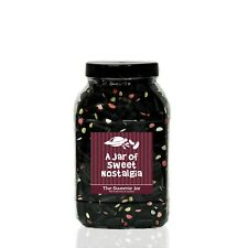 Liquorice Cream Rock Sweets Jars Personalised Retro Sweet Gift Jars In 4 sizes!