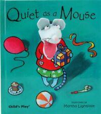 Quiet as a Mouse (Finger Puppet Books)-Martha Lightfoot