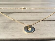 """Apple Gold Plated Necklace Gift Pendant Delicate Jewellery Teacher school 18"""""""