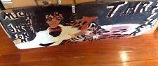 Folk art  CHUCKIE WILLIAM painting of Michael Jackson-Thriller Series!
