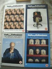 Curb Your Enthusiasm - Complete First Second Third & Forth Series - BOX SETS- VG