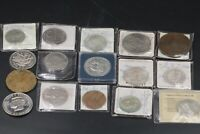 Großes Kursmünzen Umlaufmünzen Konvolut im Blister teilweise Medaillen 16 Stück