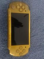PSP 3001 3000 Yellow Slim Handheld Console 6.61 Pro CFW Permanent Install Parts