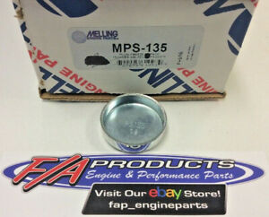 """Melling MPS-135 1-3/8"""" Steel Shallow Engine Expansion Plug Cup Freeze Out Plugs"""
