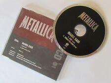 "♪♪ METALLICA ""Mama said"" Maxi CD single promo (UK press) ♪♪"