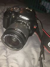 Canon EOS Rebel T3 / EOS 1100D 12.2MP Digital SLR Camera - Black