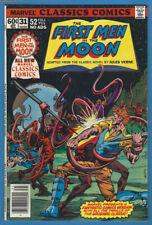 Marvel Classics Comics 31 First Men in the Moon High Grade H.G.Wells 1978