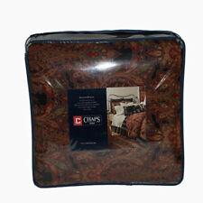 New Chaps Home Shanton Paisley 4 Piece Comforter Set Black Size Full $329.99